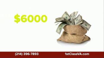 First Class Tax Relief TV Spot, 'Same-Day Refund Advance'