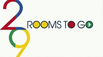 Rooms to Go Anniversary Sale TV Spot, 'Five Piece Bedroom Set' Song by Junior Senior - Thumbnail 2
