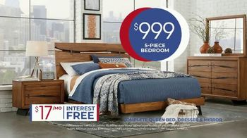 Rooms to Go Anniversary Sale TV Spot, 'Five Piece Bedroom Set' Song by Junior Senior - Thumbnail 6