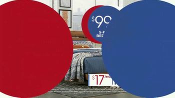 Rooms to Go Anniversary Sale TV Spot, 'Five Piece Bedroom Set' Song by Junior Senior - Thumbnail 9