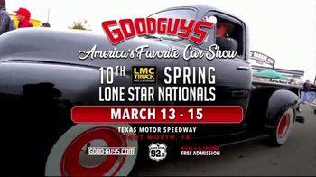 Goodguys Rod & Custom Association TV Spot, '2020 Spring Lone Star Nationals: Texas Motor Speedway' - Thumbnail 8