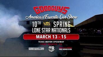 Goodguys Rod & Custom Association TV Spot, '2020 Spring Lone Star Nationals: Texas Motor Speedway' - Thumbnail 9