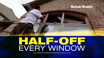Wallside Windows TV Spot, 'Half Off: Last Chance' - Thumbnail 1