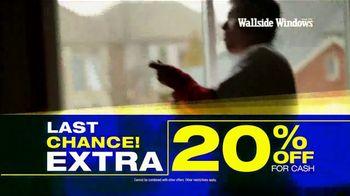 Wallside Windows TV Spot, 'Half Off: Last Chance' - Thumbnail 2