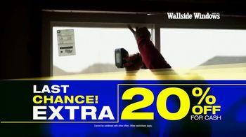 Wallside Windows TV Spot, 'Half Off: Last Chance' - Thumbnail 3