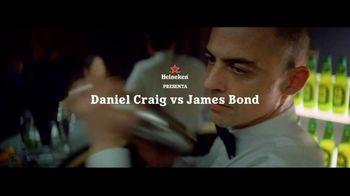 Heineken 0.0 TV Spot, 'Daniel Craig vs. James Bond' con Daniel Craig [Spanish] - 47 commercial airings