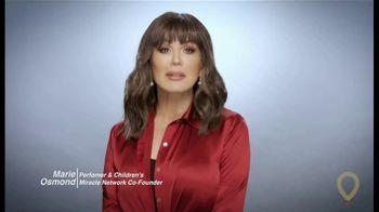 Children's Miracle Network Hospitals TV Spot, 'Here to Help' Featuring Marie Osmond' - Thumbnail 2