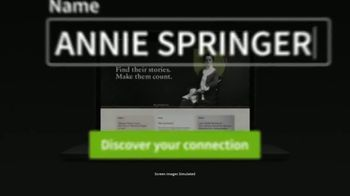 Ancestry TV Spot, 'Make Them Count: Annie Springer' - Thumbnail 8