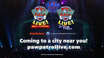 PAW Patrol Live! TV Spot, '2020 Race to the Rescue & The Great Pirate Adventure' - Thumbnail 8