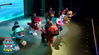 PAW Patrol Live! TV Spot, '2020 Race to the Rescue & The Great Pirate Adventure'