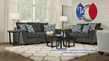 Rooms to Go Anniversary Sale TV Spot, 'Living Room Package' Song by Junior Senior - Thumbnail 4