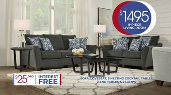 Rooms to Go Anniversary Sale TV Spot, 'Living Room Package' Song by Junior Senior - Thumbnail 5