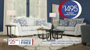 Rooms to Go Anniversary Sale TV Spot, 'Living Room Package' Song by Junior Senior - Thumbnail 6
