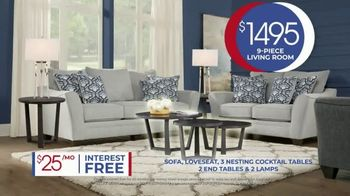 Rooms to Go Anniversary Sale TV Spot, 'Living Room Package' Song by Junior Senior - Thumbnail 7