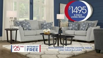 Rooms to Go Anniversary Sale TV Spot, 'Living Room Package' Song by Junior Senior - Thumbnail 9