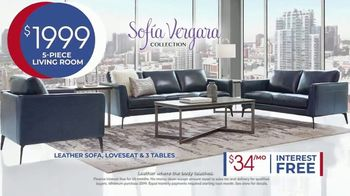 Rooms to Go Anniversary Sale TV Spot, 'Sofía Vergara Collection' Song by Junior Senior - Thumbnail 5