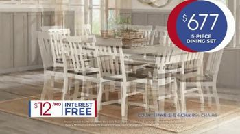 Rooms to Go Anniversary Sale TV Spot, 'Five Piece Dining Set' Song by Junior Senior - Thumbnail 5
