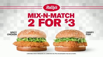Checkers & Rally's Mix-N-Match 2 for $3 TV Spot, 'Go for Seconds' - Thumbnail 2