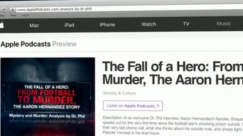 Mystery & Murder: Analysis by Dr. Phil TV Spot, 'The Fall of a Hero: From Football to Murder, The Aaron Hernandez Story' - Thumbnail 8