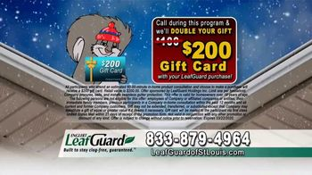 LeafGuard of St. Louis Winter Half Off Sale TV Spot, 'Bare Tree Branches: Gift Cards' - Thumbnail 9
