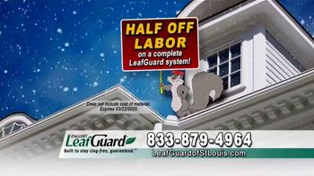 LeafGuard of St. Louis Winter Half Off Sale TV Spot, 'Bare Tree Branches: Gift Cards' - Thumbnail 6