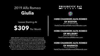 Alfa Romeo Presidents Day Event TV Spot, 'Revel in Speed: I Am' [T2] - Thumbnail 8