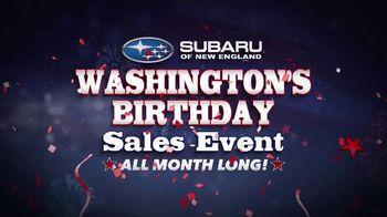 Subaru Washington's Birthday Sales Event TV Spot, 'Feel the Freedom: Ascent' [T2] - Thumbnail 2