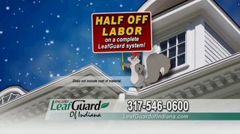 LeafGuard of Indiana Winter Half Off Sale TV Spot, 'Magic on the Inside: Gift Card' - Thumbnail 6