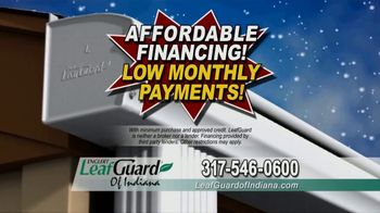 LeafGuard of Indiana Winter Half Off Sale TV Spot, 'Magic on the Inside: Gift Card' - Thumbnail 7