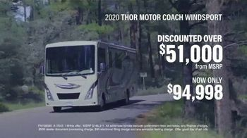 La Mesa RV TV Spot, '2020 Thor Motor Coach Windsport: Discounted Over $51,000'