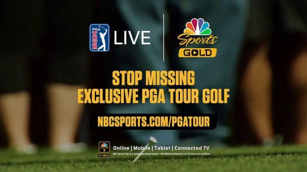 nbc sports gold tv commercial   u0026 39 pga tour live  2020