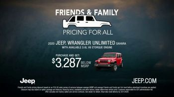 Jeep Friends & Family Pricing for All TV Spot, 'Test of Time' Song by Old Dominion [T2] - Thumbnail 7
