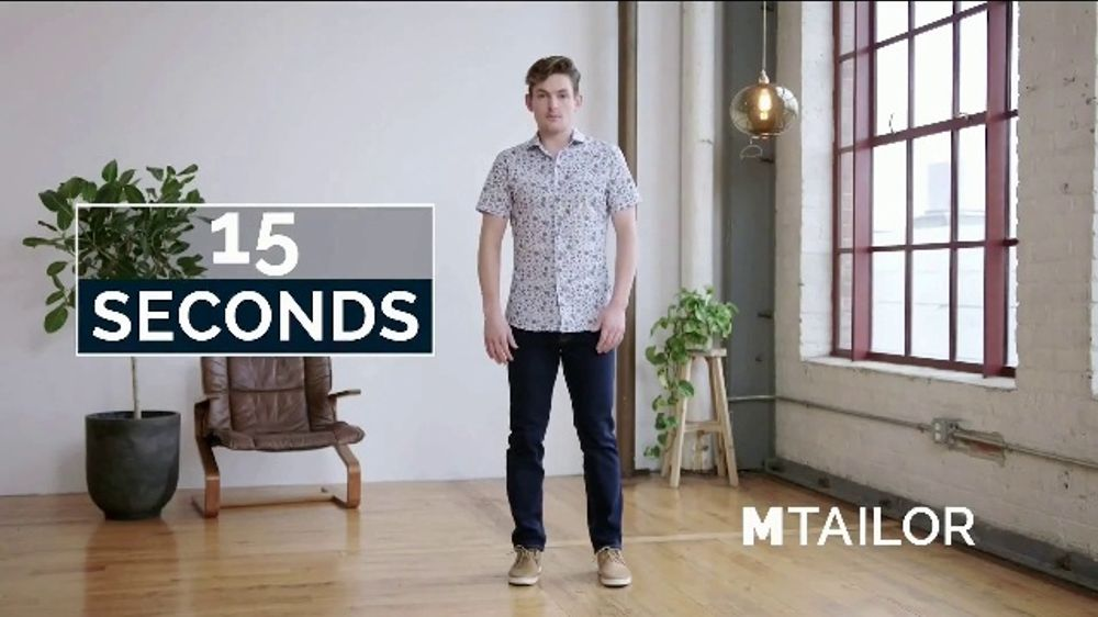 MTailor TV Commercial, 'Custom Jeans'