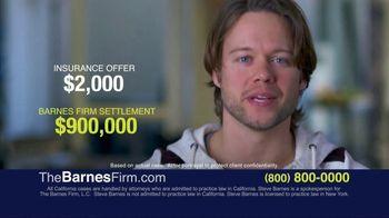 The Barnes Firm TV Spot, '$2,000 vs. $900,000'