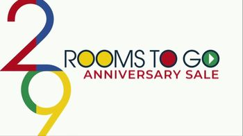 Rooms to Go Anniversary Sale TV Spot, 'Five Piece Bedroom: Bonus Buy' Song by Junior Senior - Thumbnail 1
