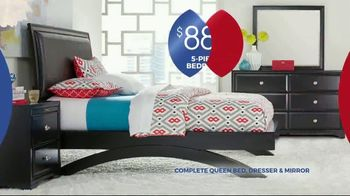 Rooms to Go Anniversary Sale TV Spot, 'Five Piece Bedroom: Bonus Buy' Song by Junior Senior - Thumbnail 3