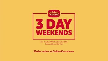 Golden Corral Three Day Weekends TV Spot, 'Folks and Strokes' Song by Alvin Cash & The Registers - Thumbnail 10
