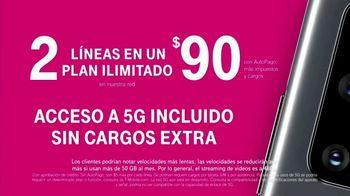 T-Mobile TV Spot, 'Samsung Galaxy S20 5G: compra uno y llévate otro gratis' [Spanish] - Thumbnail 8