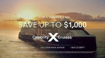 Celebrity Cruises TV Spot, 'Wonder Awaits: Save Up to $1,000' Song by Jefferson Airplane - Thumbnail 8