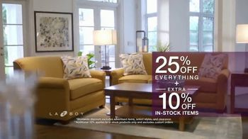 La-Z-Boy In-Stock Flash Sale TV Spot, 'Favorite Spot: 25 Percent Off Everything' - Thumbnail 8