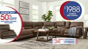 Rooms to Go Anniversary Sale TV Spot, 'Power Reclining Sectional' Song by Junior Senior - Thumbnail 7