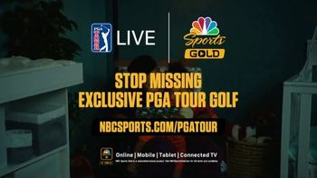 NBC Sports Gold PGA Tour Live TV Spot, 'Bed Time' - Thumbnail 10