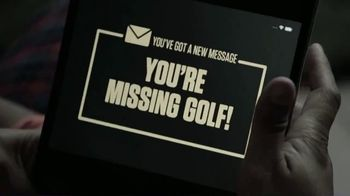 NBC Sports Gold PGA Tour Live TV Spot, 'Bed Time' - Thumbnail 6