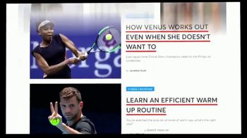 TENNIS.com TV Spot, 'Online Connection: Get In the Game' - Thumbnail 10
