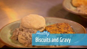 RIDE TV GO TV Spot, 'Healthy Biscuits and Gravy'