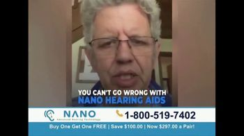 Nano Hearing Aids TV Spot, 'Real People: BOGO'