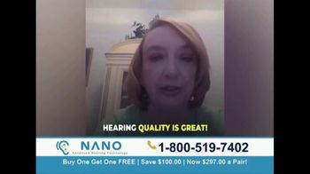 Nano Hearing Aids TV Spot, 'Real People: BOGO' - Thumbnail 2