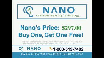 Nano Hearing Aids TV Spot, 'Real People: BOGO' - Thumbnail 6