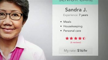 Care.com TV Spot, 'Senior Care: April and Nellie' - Thumbnail 9