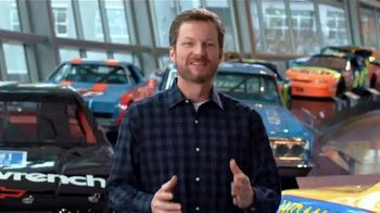 NASCAR Hall of Fame TV Spot, 'Glory Road Champions Exhibit' Featuring Dale Earnhardt Jr. - Thumbnail 2